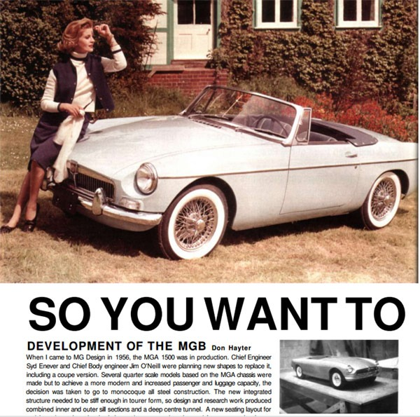 MGB Buyers Guide 2007