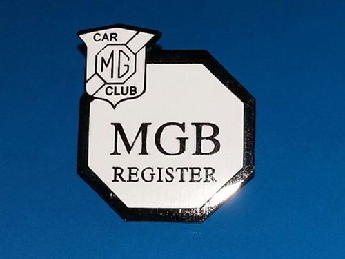 MGB Lapel Pin Badge