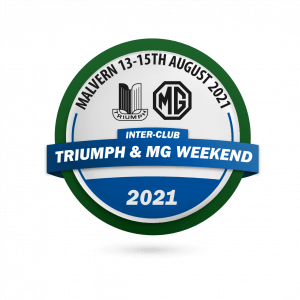 Triumph and MG Weekend 2021 Logo